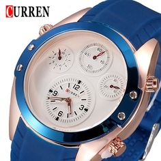 Find More Casual Watches Information about 2015 Hot !CURREN 8104 Men Watches Top Brand Luxury Wristwatches Men Military Leather Sports Watch Auto Date Relogio Masculino,High Quality watch case stainless steel,China watch spider man 2 Suppliers, Cheap watch box for large watches from Headphone Mart on Aliexpress.com