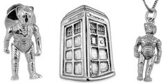 London Silver Company Doctor Who Gifts