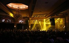 McMenamin's Crystal Ballroom.  Great place to see a show... floating dancefloor