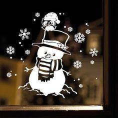 9 Ideas para decorar ventanas navideñas con pasta de dientes y marcadores ~ lodijoella