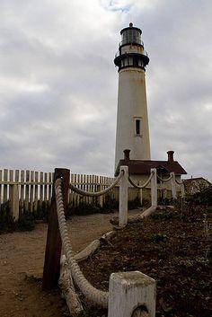 Farol Ponto do Pombo (Pingeon Point). Estado da Califórnia, USA.
