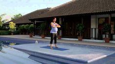 Prenatal Yoga Routine - Lara Dutta