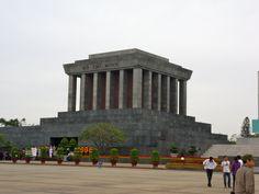 Mausolée d'Ho Chi Ming à Ha Noi