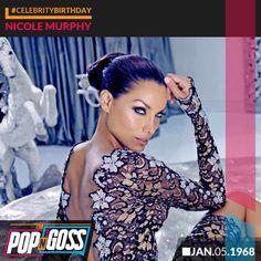 Happy Birthday Nicole Murphy!! #CelebrityBirthday #CelebrityNews #NicoleMurphy #PopCulture #PopNGoss