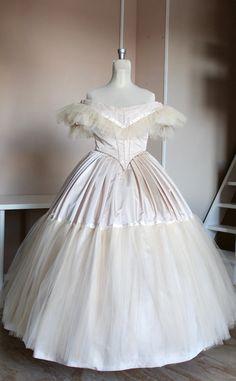 Victorian Ballroom dress Victorian ball gown by SecretTimes