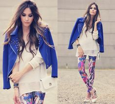 Stuff to Add Your Hipster Style: Legging Abstrak ~ hipsterwall.com Female Hipster Style Inspiration