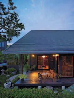 Exterior house small woods Ideas for 2019 Zen House, Forest House, Japanese Architecture, Architecture Design, Chalet Modern, Japanese Style House, Appartement Design, Tropical Houses, Small House Plans