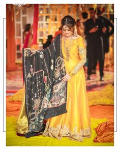 Thankyou for creating this look totally loved it❤️ for the jewels, hair and makeup by Pakistani Mehndi Dress, Pakistani Fashion Party Wear, Pakistani Formal Dresses, Pakistani Wedding Outfits, Pakistani Dress Design, Bridal Outfits, Indian Dresses, Pakistani Couture, Indian Outfits