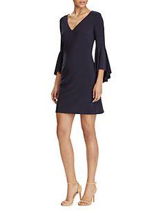 Lauren Ralph Lauren - Bell Sleeve Jersey Dress