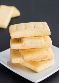 Classic Shortbread Cookies - Only 3 Ingredients!