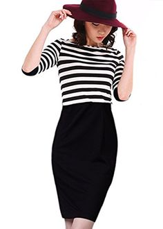 Luckshop2012 New Women Long Sleeve Bodycon Evening Pencil Dress Clubwear Black (L) Luckshop2012 http://www.amazon.co.uk/dp/B00MEBH1LE/ref=cm_sw_r_pi_dp_3kLlvb1WZZB77