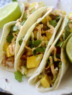 Weight Watcher Recipes - Shrimp Tacos with Mango Citrus Slaw – Recipe Diaries
