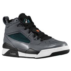 Jordan Flight 9.5 - Boys' Grade School - Dark Grey/Dusty Cactus/Black