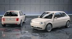 Reviving The Fiat 126 As A Modern Electric City Car Is Pure Eye Candy Fiat 126, Small Electric Cars, Electric Vehicle, Mazda, New Fiat, Automobile, Rescue Vehicles, City Car, Bmw