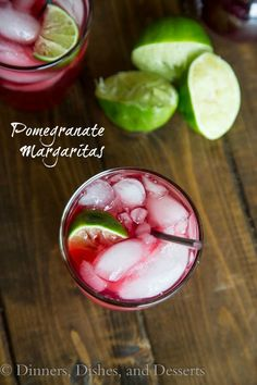 Pomegranate Margaritas (12 Days of Giveaways)