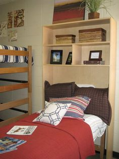 """From our Dorm Cubby customers! """"Bought this for my son's dorm bed.  Even if you have not ordered yet they have plenty in stock and will ship.  Also deliver and install at some colleges. Please contact James Cox at 205-835-0785 if you would like a bed or desk cubby!"""""""