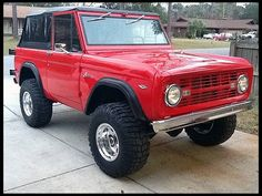 Dear #Ford, please bring back the #Bronco.   1968 Ford Bronco