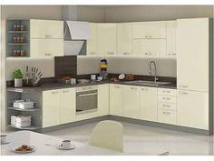 Kuchynská linka KAMELIA Kitchen Modular, Kitchen Sets, Kitchen Remodel, House Plans, Kitchen Cabinets, Furniture, Home Decor, Products, Decorations