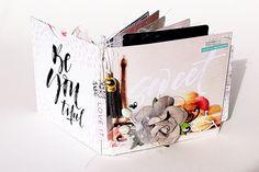 Édes kis mini - punkrose.hu #minialbum #scrapbook #diy #primamarketing #lovestorycollection #lovestory #mixedmedia #scrapbooking #family Prima Marketing, Minion, Love Story, Albums, Mixed Media, Shabby, Container, Scrapbooking, Diy