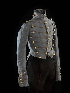 April 27, 1822: Ulysses S. Grant, 18th President of the United States and Union general is born. This was Grant's U.S. Military Academy cadet coatee, worn circa 1839. Grant was a member of the class of 1843.