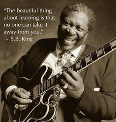 "The one, the only, Mr. BB King, ""The King of the Blues"" ! R.I.P !"