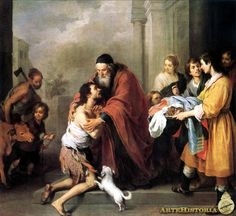 MURILLO 1668 Regreso del hijo pródigo