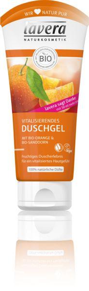 Vitalisierendes Duschgel Bio-Orange & Bio-Sanddorn | lavera Naturkosmetik