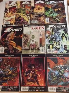 New X-Men Lot # 37 - 46 (Marvel Comics) Humberto Ramos, Skottie Young  | eBay