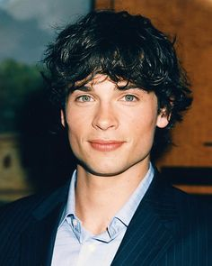 "Tom Welling... ""Well"" .. he def is ""welling"" over with good looks :P"