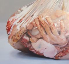Warning: This post contains graphic and disturbing images. Viewer discretion is advised. If you can manage to stare at these paintings by artist Fábio Magalhães long enough not to feel a bit queasy, then you will be able to appreciate the immense skill and detail that these works possess. And while the body horror content is.... http://illusion.scene360.com/art/63961/hyperrealist-body-horror/
