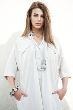 Light Gray Tunic Shirt  💟 Shipping We use Priority shipping for all of our items: USA, Canada, Australia, NZ ~ 10-14 biz days EU ~5-7 biz days  💟 Time to ship Ready to ship in 3-5 business days. If the item is available we ship the day after the purchase!  💟 Materials Acetate silk fabric 💟 Care Hand wash or short and gentle washing cycle at 30°C / 86°F max. Use mild detergent for delicate fabrics.  💟 Sizes Due to its loose design, the dress has a universal size covering S to XL.  💟...