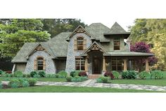 ePlans Craftsman House Plan – Summer Bound – 2487 Square Feet and 3 Bedrooms from ePlans – House Plan Code HWEPL76584