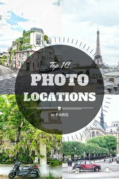 iconic photo locations in paris