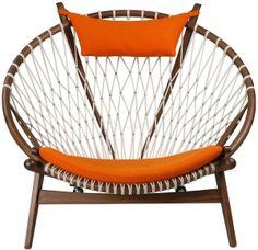 Love the Circle Chair in Orange - Hans Wenger Udara Design - Carissa Donsker