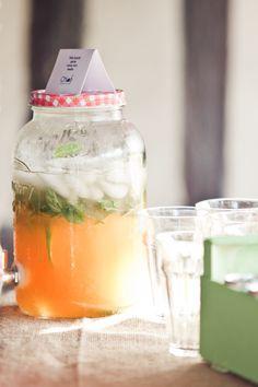 Thé glacé melon, menthe et citron vert – Pimprunelle Photographie