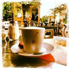 Coffee at Wilhelmina #amsterdam