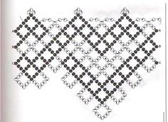 A pattern for beautiful necklace Honey          U need 2 colours of 11/0 size seed beads        [a