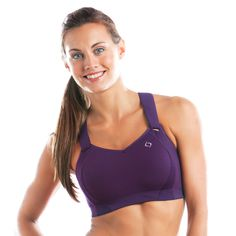 The BEST sports bra I have ever worn! Being a big chested female who runs marathons it is very tough to find a good sports bra that provides good support. I wish I would have known about this sports bra a long time ago.