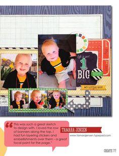 ISSUU - CREATE: Issue 2, February 2014 by Scrapbook Generation
