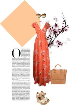 """Cherry Blossom"" by seasonsuk ❤ liked on Polyvore"