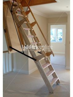 maximum in style. The Sandringham is an elegantly designed electrically operated loft stairway that comes complete with its own hatch and lining frame. The electric mechanism effortlessly unfolds and drops the loft ladder down into position for you to climb easily into your loft room space.