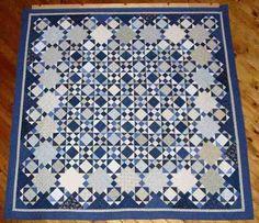 Pattern: The Blues - Scrap Quilt