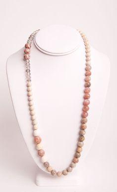 Mutlicolor Beaded Beige Necklace
