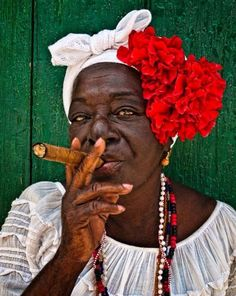 I was born to create .My dad side of the family is Afro-Cuban .That migrated from Cuba too Tampa. I'm a spicy Afro-Cuban with a Gullah side. Afro Cuban, Cuban Art, We Are The World, People Around The World, Cuban Women, Cultures Du Monde, Cigars And Women, Cuban Culture, Havana Nights
