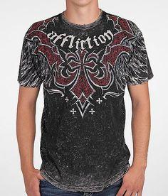 Affliction Cast Steel Reversible T-Shirt
