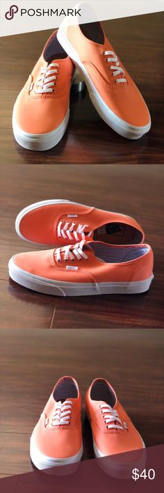 f763cf983cc9 Vans Authentic Deck Club Fresh Salmon