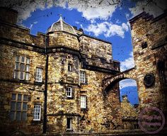 LIMITED TIME PROMOTION, Edinburgh Castle Scotland Photo Art