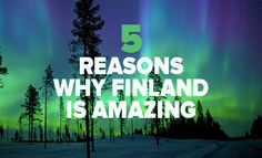 Why you should book your next trip to Finland! #Finland #northernLights #travel