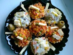 Majina kuhinja: Posne susam korpice