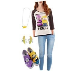 Untitled #224 by breautrey on Polyvore featuring polyvore fashion style Hybrid Tees Frame Denim